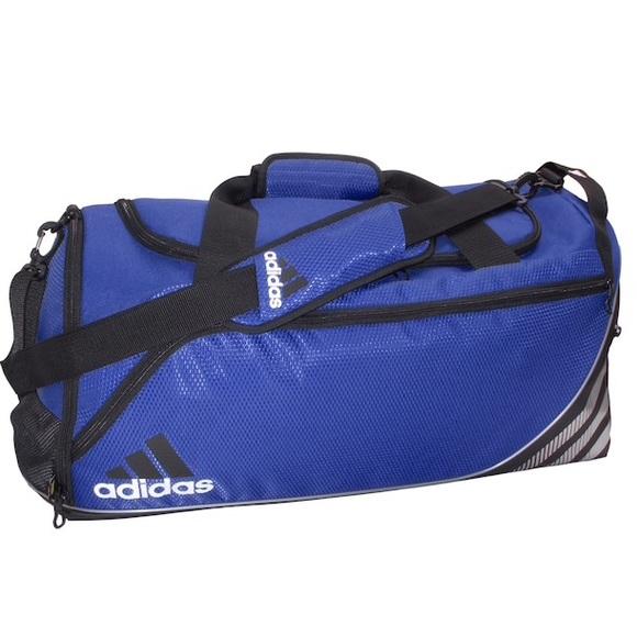 f59ce9dbc4 Adidas Team Speed Duffel Bag Small Blue Soccer New